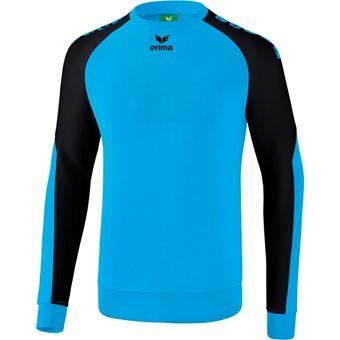 Picture of Erima Essential 5-C Sweatshirt Kinderen - Curacao / Zwart