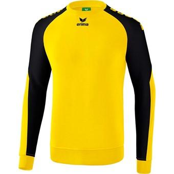 Picture of Erima Essential 5-C Sweatshirt Kinderen - Geel / Zwart
