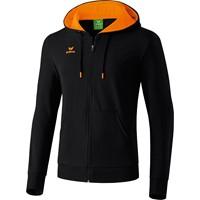 Erima Graffic 5-C Sweatjack - Zwart / Oranje