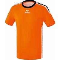 Erima Sevilla Shirt Korte Mouw - Oranje / Wit