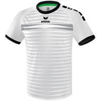 Erima Ferrara 2.0 Shirt Korte Mouw - Wit / Zwart