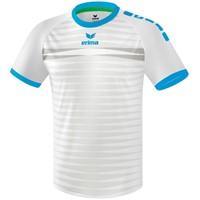 Erima Ferrara 2.0 Shirt Korte Mouw - Wit / Curacao
