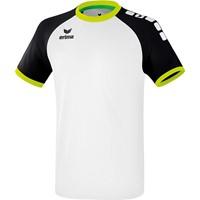 Erima Zenari 3.0 Shirt Korte Mouw Kinderen - Wit / Zwart / Lime Pop