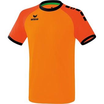 Picture of Erima Zenari 3.0 Shirt Korte Mouw - Oranje / Mandarine / Zwart