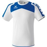 Erima Ferrara Shirt Korte Mouw Kinderen - Wit / Royal