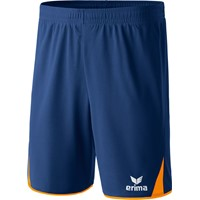 Erima 5-cubes Short - New Navy / Neon Oranje