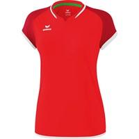 Erima Zenari 3.0 Volleybalshirt Dames - Rood / Robijnrood / Wit