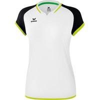 Erima Zenari 3.0 Volleybalshirt Dames - Wit / Zwart / Lime Pop