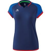 Erima Zenari 3.0 Volleybalshirt Dames - New Navy / New Royal / Rood