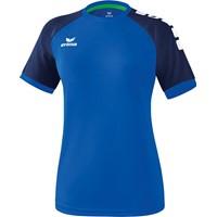 Erima Zenari 3.0 Shirt Korte Mouw Dames - New Royal / New Navy