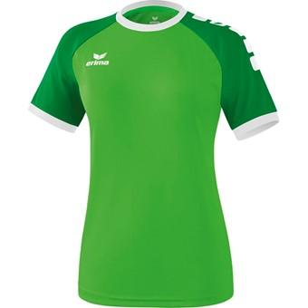 Picture of Erima Zenari 3.0 Shirt Korte Mouw Dames - Green / Smaragd / Wit