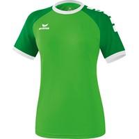 Erima Zenari 3.0 Shirt Korte Mouw Dames - Green / Smaragd / Wit