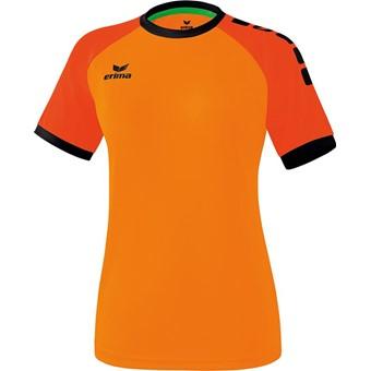 Picture of Erima Zenari 3.0 Shirt Korte Mouw Dames - Oranje / Mandarine / Zwart