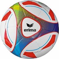 Erima Hybrid Training (4) Trainingsbal - Wit / Rood / Blauw