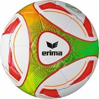 Erima Hybrid Training (3) Trainingsbal - Wit / Rood / Oranje