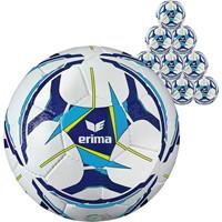 Erima Senzor Allround Training (maat 5) 10x Ballenpakket - Wit / Curacao / Marine