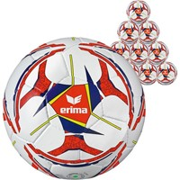 Erima Senzor Allround Training (maat 4) 20x Ballenpakket - Wit / Marine / Oranje