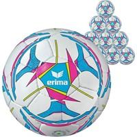 Erima Senzor Allround Training (maat 3) 10x Ballenpakket - Wit / Roze / Curacao