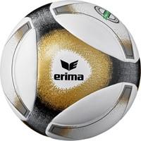Erima Hybrid Match Wedstrijdbal - Zwart / Goud