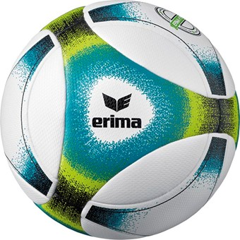 Picture of Erima Hybrid Futsal Voetbal - Wit / Petrol / Lime / Zwart