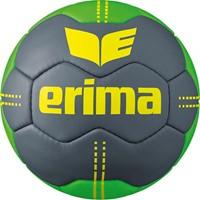 Erima Pure Grip No. 2 Handbal - Cool Grey / Green / Geel
