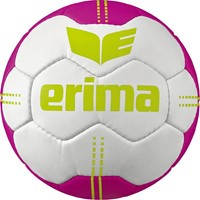 Erima Pure Grip No. 4 Handbal - Wit / Pink / Lime
