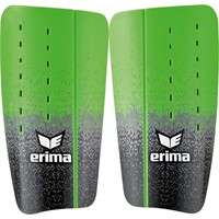 Erima Flex Guard Tube Scheenbeschermer - Zwart / Grijs / Green