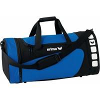 Erima Club 5 (M) Sporttas Met Zijvakken - Royal / Zwart