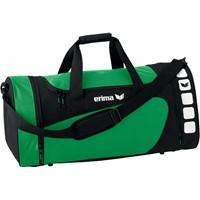 Erima Club 5 (M) Sporttas Met Zijvakken - Smaragd / Zwart