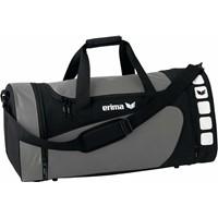 Erima Club 5 (L) Sporttas Met Zijvakken - Graniet / Zwart