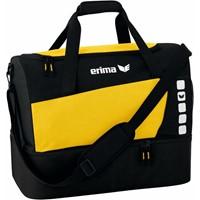 Erima Club 5 (large) Sporttas Met Bodemvak - Geel / Zwart