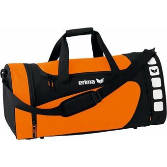 Picture of Erima Club 5 (s) Sporttas Met Zijvakken - Oranje / Zwart