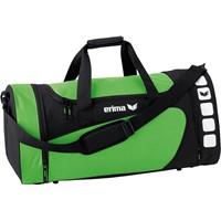 Erima Club 5 (M) Sporttas Met Zijvakken - Zwart / Green