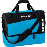 Erima Club 5 (small) Sporttas Met Bodemvak - Curacao / Zwart