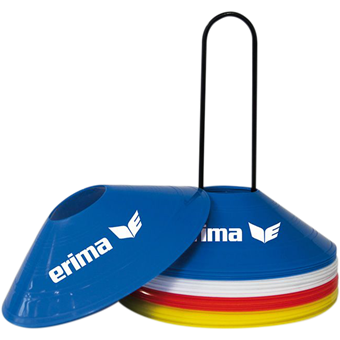 Picture of Erima 24X Set Kegels - Rood / Blauw / Geel / Wit