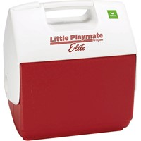 Erima 6,6 Liter Koelbox - Wit / Rood