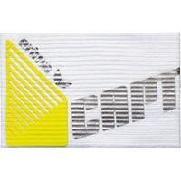 Erima Aanvoerdersband - Wit / Zilver