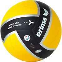 Erima King Of The Court Volleybal - Zwart / Geel / Zilver