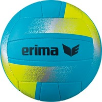 Erima King Of The Beach Volleybal - Aqua / Geel