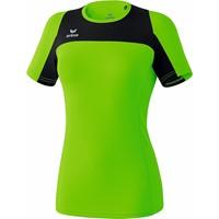 Erima Race Line Running T-shirt Dames - Green Gecco / Zwart