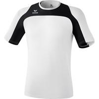 Erima Race Line Running T-shirt Kinderen - Wit / Zwart