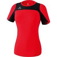 Erima Race Line Running T-shirt Dames - Rood / Zwart