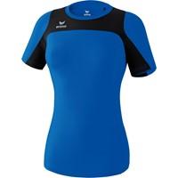 Erima Race Line Running T-shirt Dames - New Royal / Zwart