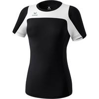 Erima Race Line Running T-shirt Dames - Zwart / Wit