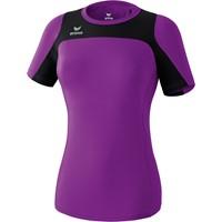 Erima Race Line Running T-shirt Dames - Lila / Zwart