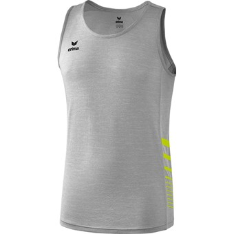 Picture of Erima Race Line 2.0 Running Singlet - Grey Melange