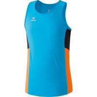 Erima Premium One Running Singlet - Curacao / Neon Oranje / Zwart