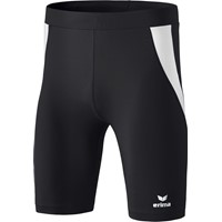Erima Atletiek Short Tight Kinderen - Zwart / Wit