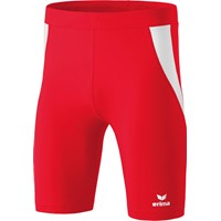 Erima Atletiek Short Tight - Rood / Wit