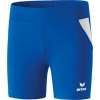 Erima Atletiek Short Tight Dames - Royal / Wit